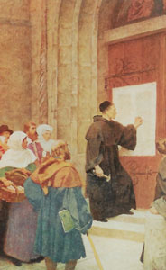 Luther Nails 95 Theses