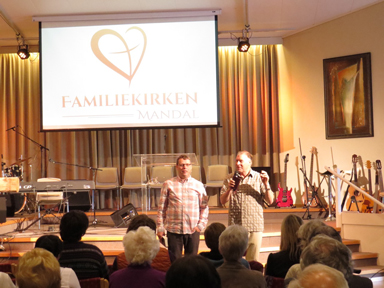 Ministry in Mandal, Norway