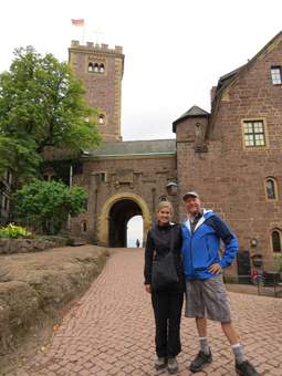 Visitng the Wartburg Castle