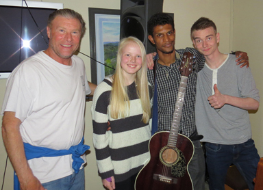 Ministry to the youth in Mandal, Norway.